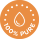 Ace Drops All Natural Premium CBD 100% Pure CBD Certified Badge